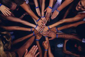 groupe de jeunes chrétiens